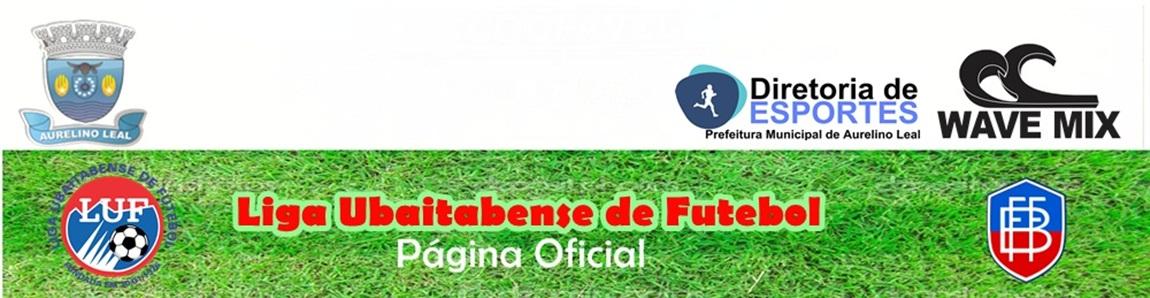 Liga Ubaitabense de Futebol - SUA PÁGINA OFICIAL