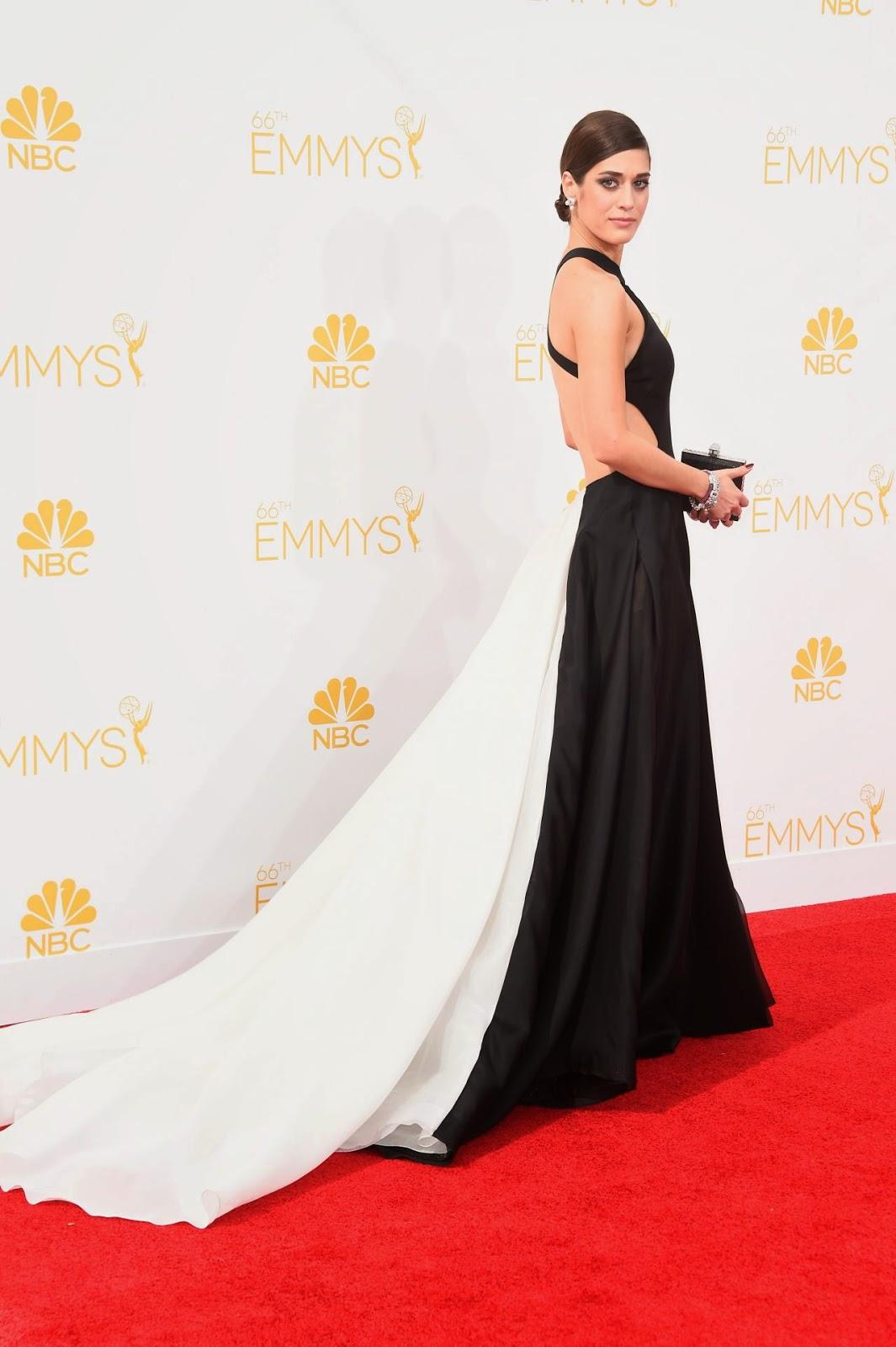 Lizzy Caplan – 2014 Primetime Emmy Awards in Los Angeles