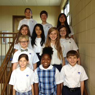 Montgomery Catholic Elementary Campuses Elect Student Council for 2013-2014 2