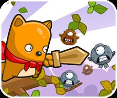 Chiến binh mèo dũng cảm, chơi game đánh nhau hay