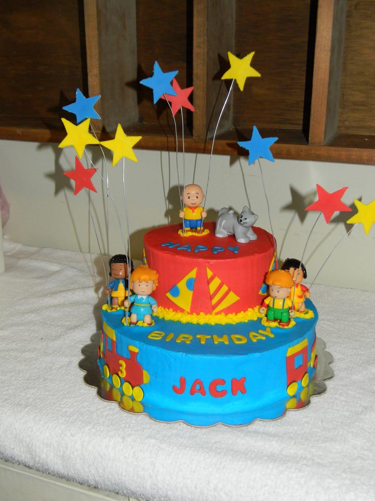 caillou birthday cakes