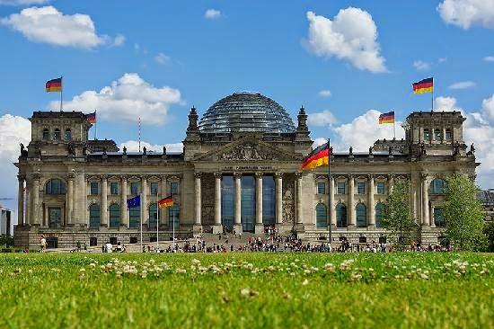 Rigsdagen Berlin, Tyskland