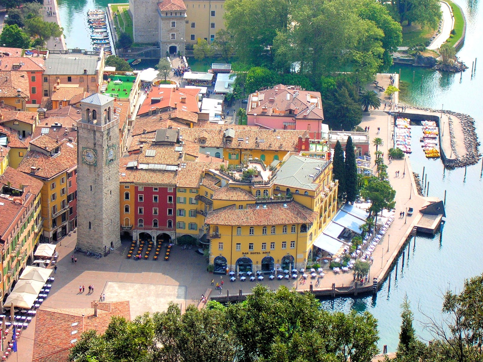 Riva Del Garda Italy  City pictures : Riva del Garda or Riva is the northernmost village on Lake Garda and ...
