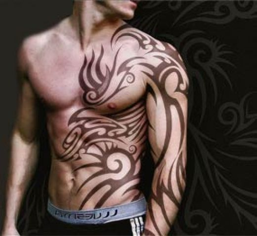 great sleeve tattoo on a