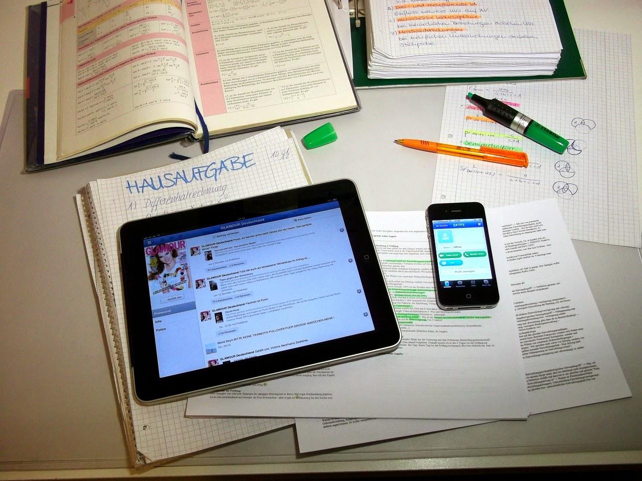 Facebook Addiction Overuse Tablet Smartphone