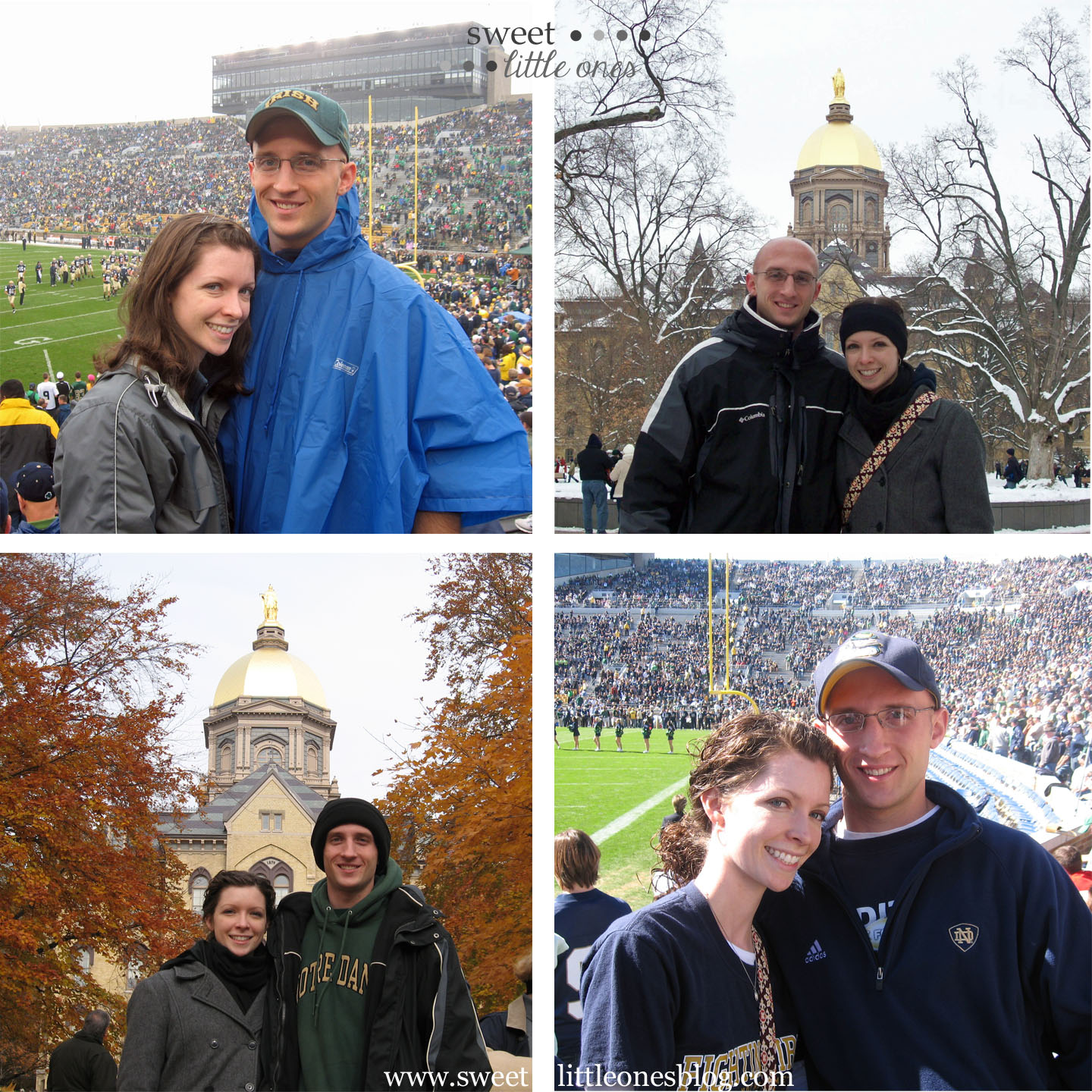 Notre Dame Game Day Traditions - www.sweetlittleonesblog.com