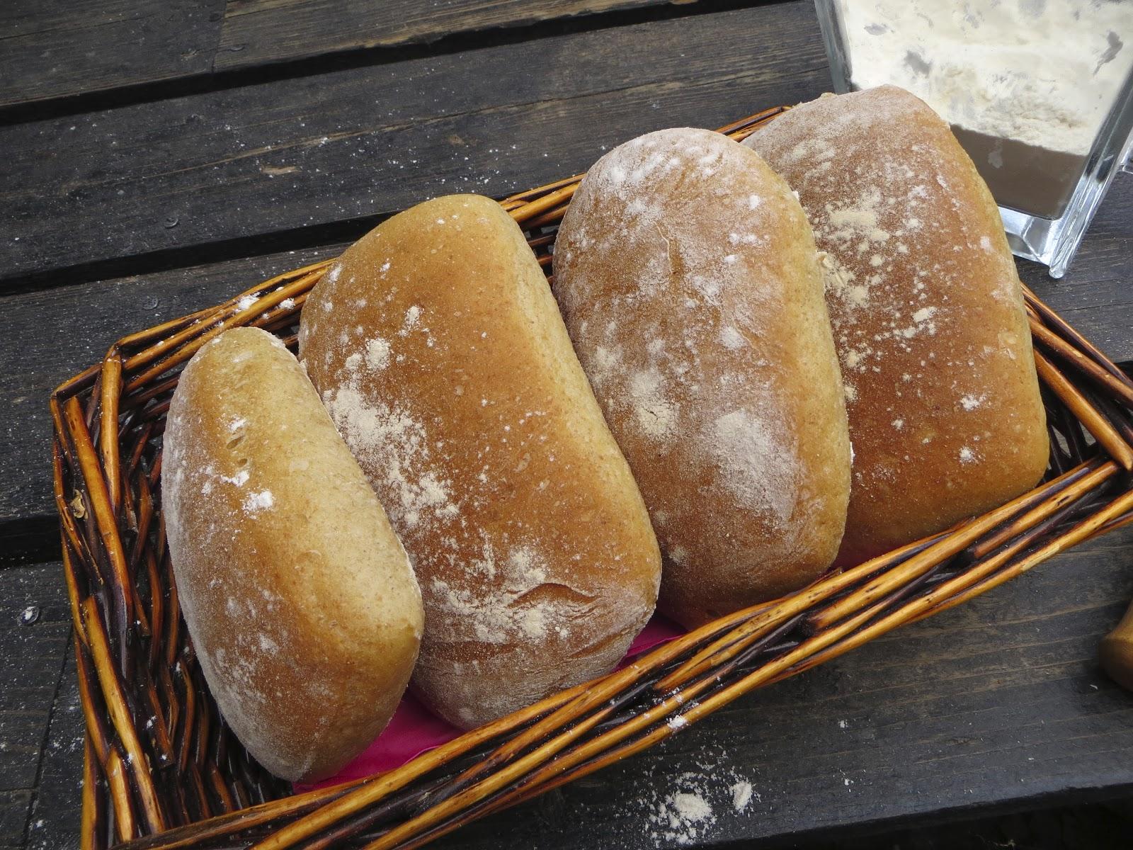 snabb bakat bröd