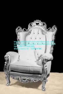 Set kursi makan ukir jepara Jual furniture mebel jepara kursi makan klasik kursi makan jati kursi makan antik kursi makan jepara kursi makan duco mebel jepara KRSIJ-100004 kursi tamu ukiran jepara antik jati cat silver
