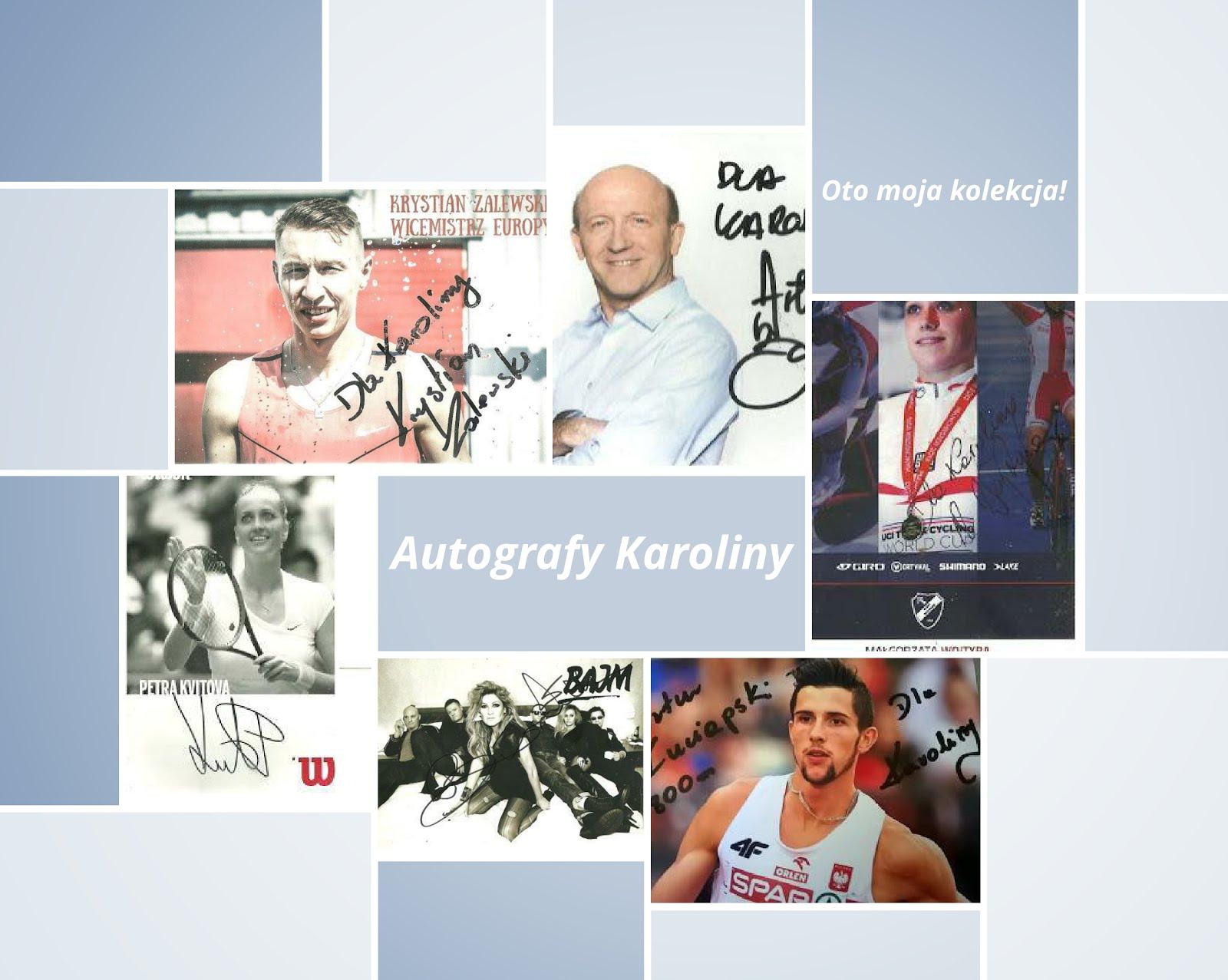 Moja kolekcja autografów
