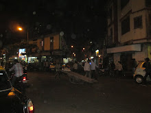 By-Lanes of Kamatipura at night.