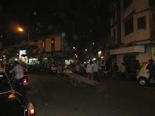 By-Lanes of Kamatipura at night.