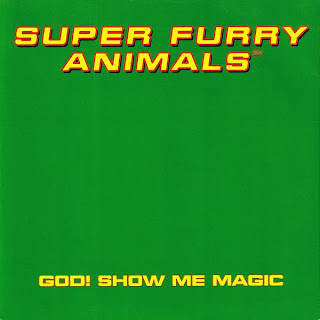 Super Furry Animals, God Show Me Magic, EP, Creation Records, 1996, Welsh, Indie, Alternative, Power Pop, mp3, Gruff Rhys