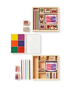 MyHabit: Save Up to 60% off Melissa + Doug Friendship/Princess Stamp Set