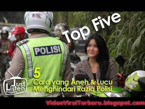 5 Cara Lucu Menghindari Razia Polisi