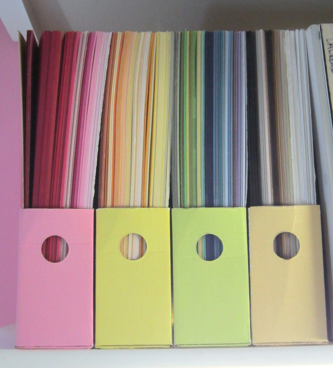 craft paper organizer