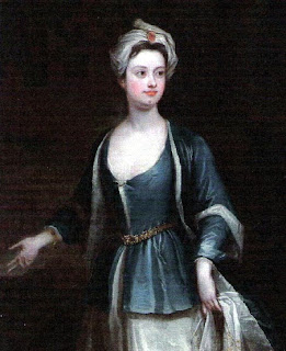 Painting of Brown Lady of Raynham Hall