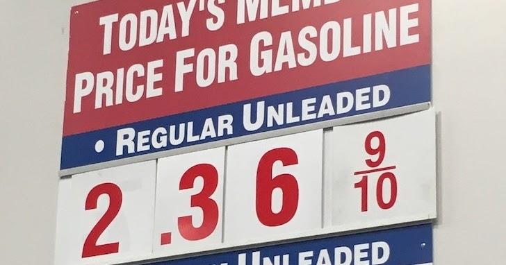 Valero Gas Prices >> Current Costco Gas Prices (Nov 25, 2015 - Redwood City, CA)   Costco Weekender