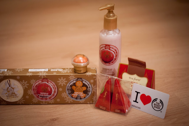 kerst christmas collectie body shop