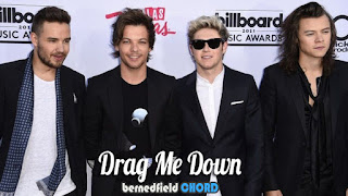 One Direction - Drag Me Down Chords and Lyrics