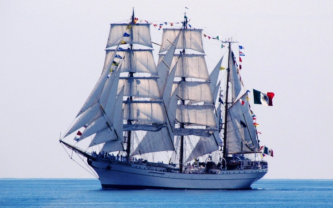ARM Cuauhtemoc, wallpaper kapal layar 1