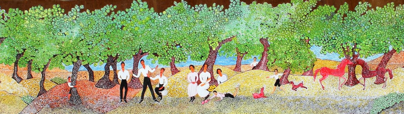 Πίνακας της κας Ανθούλας Λαζαρίδου Δουρούκου