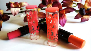 Product Review - Maybelline Electro Pop Baby Lips Colored Lip Balm - Oh! Orange! & Pink Shock