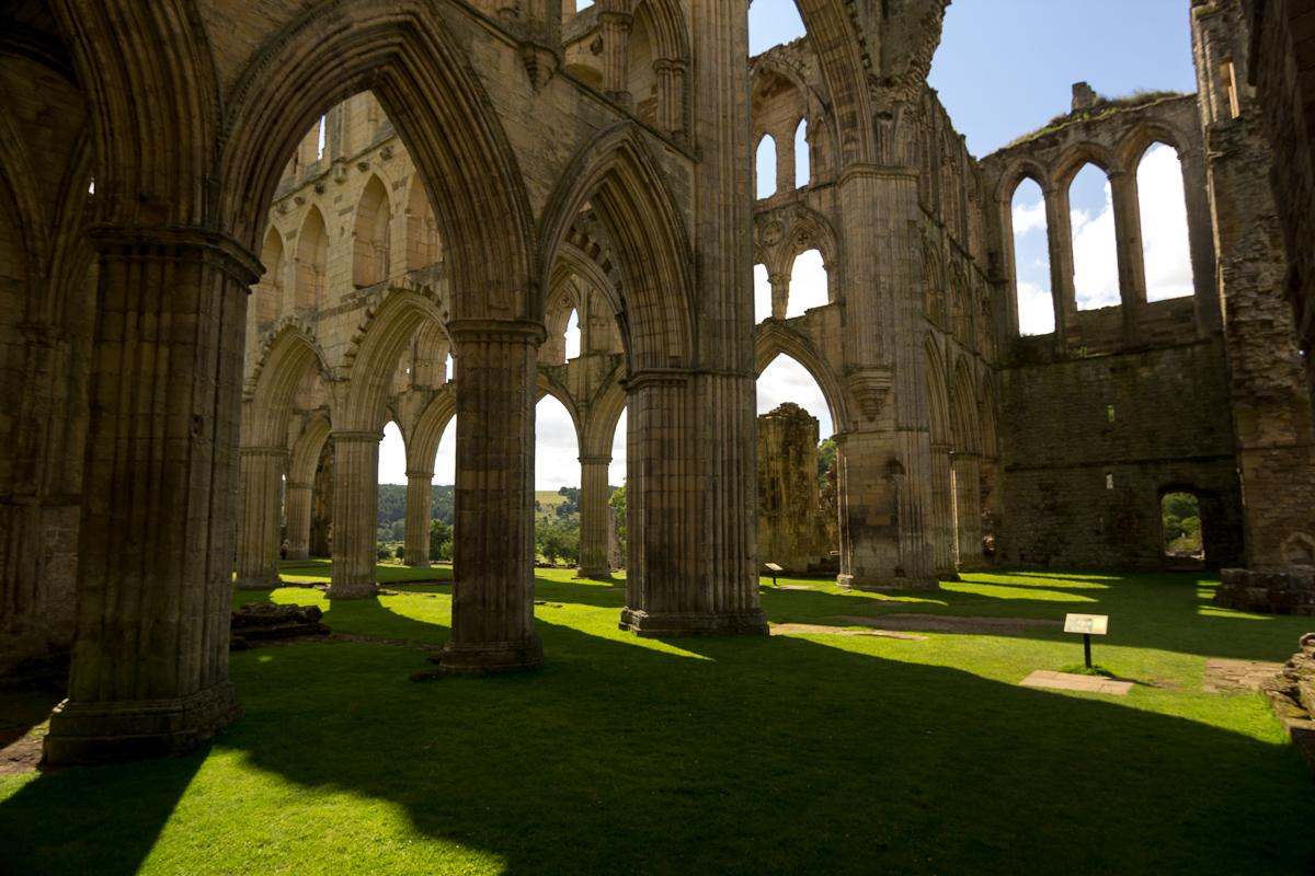 Transept Rievaulx Abbey