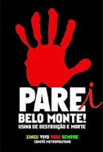 Belo Monte nunca mais!
