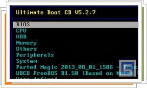 Ultimate Boot CD (UBCD) 5.2.7 Download