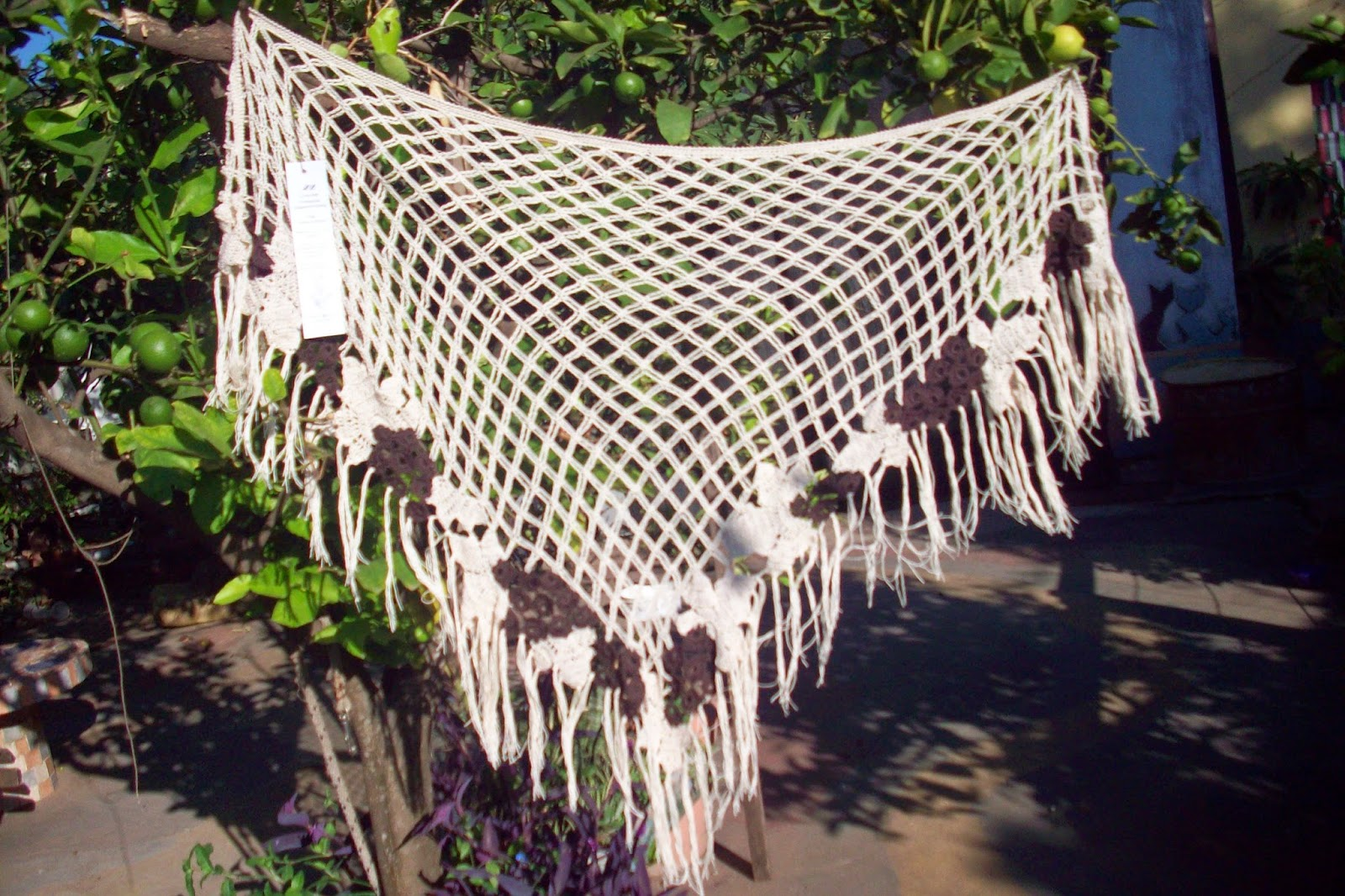 uvas tejidas a crochet