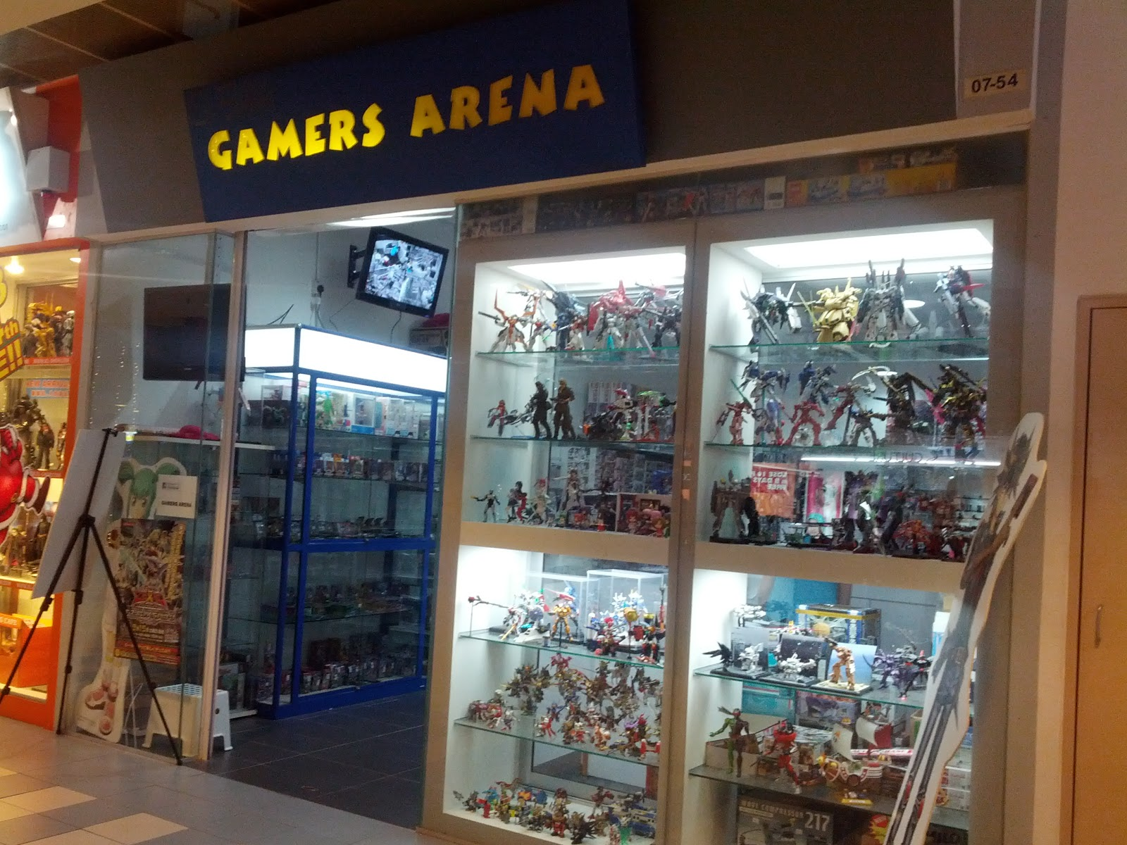 hunt for gundam in berjaya times square sprout and co