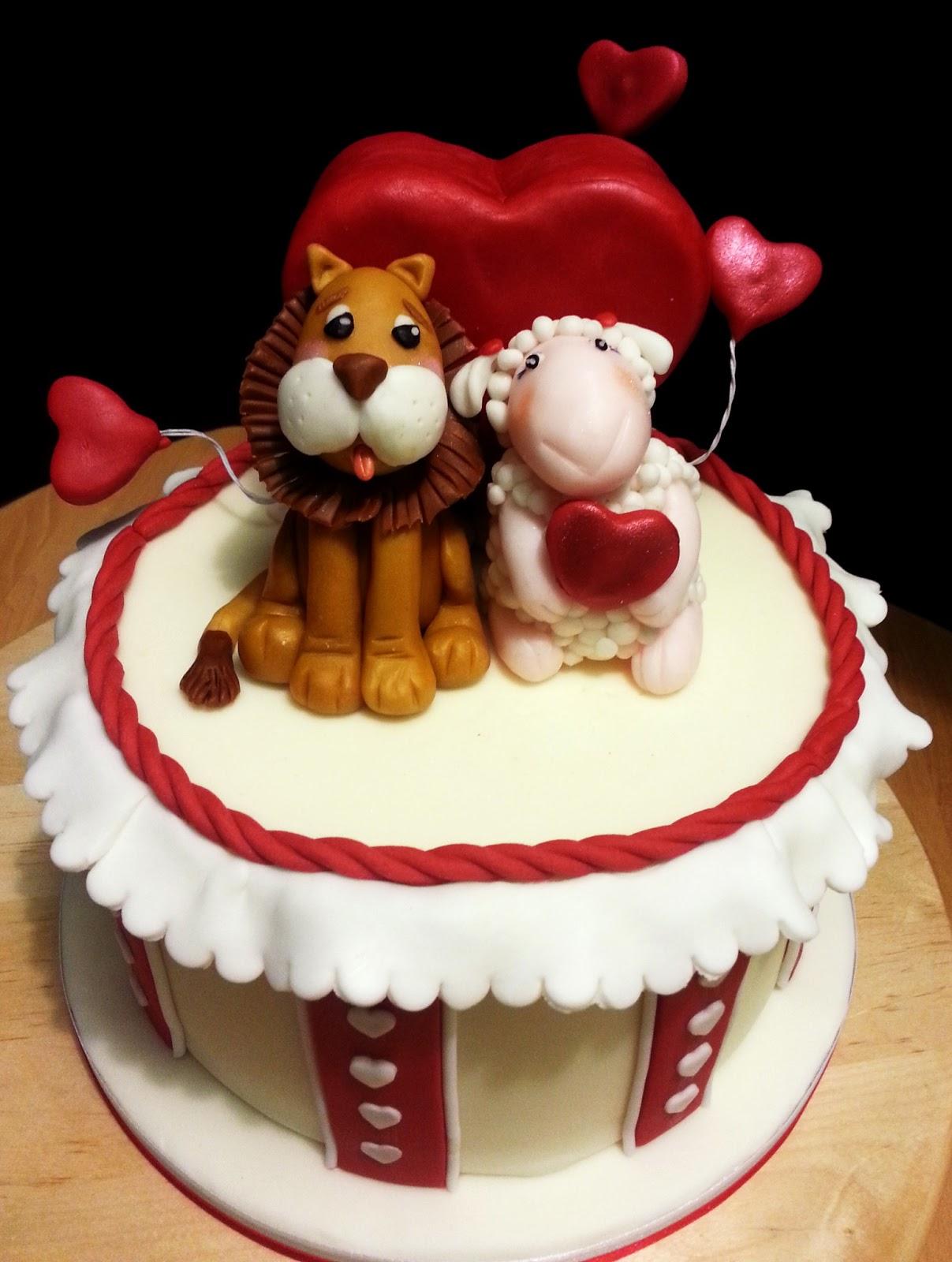Paola alix in cakes un amore di torta san valentino - Decorazione san valentino ...