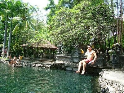 Sanih or Water tours Sanih in Bali the island of gods
