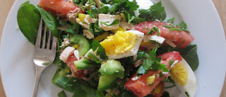 Salada multicolorida light