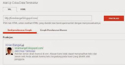 Profil Google+ Hilang di Pencarian Google