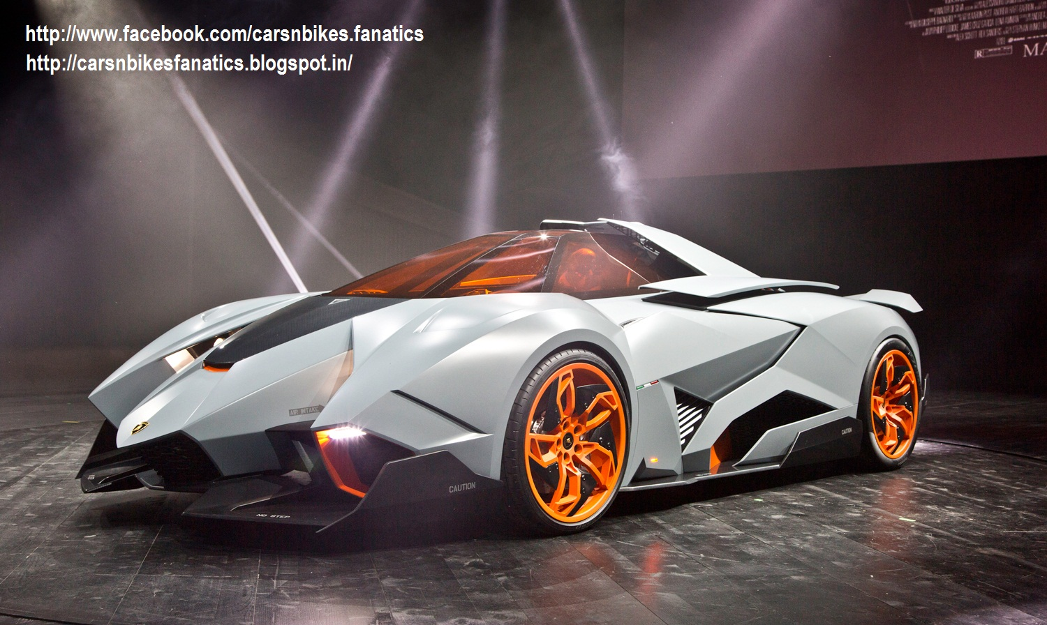 Car Amp Bike Fanatics The All New Lamborghini Egoista Concept