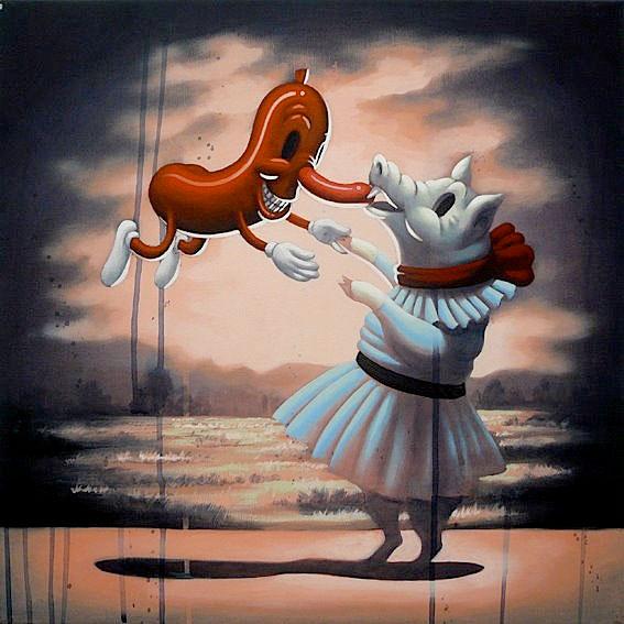 Doctor Ojiplático. Victor Castillo. Pintura | Painting