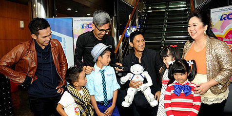 Pemenang Idola Cilik Tahun 2013, Bagas asal Palembang