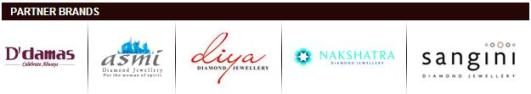 Gitanjali Jewellery partner brands in India