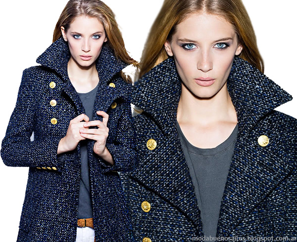 Moda otoño invierno 2014. Colección Koxis otoño invierno 2014 Abrigos e indumentaria femenina.
