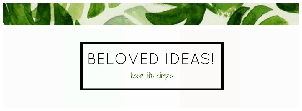 beloved ideas!