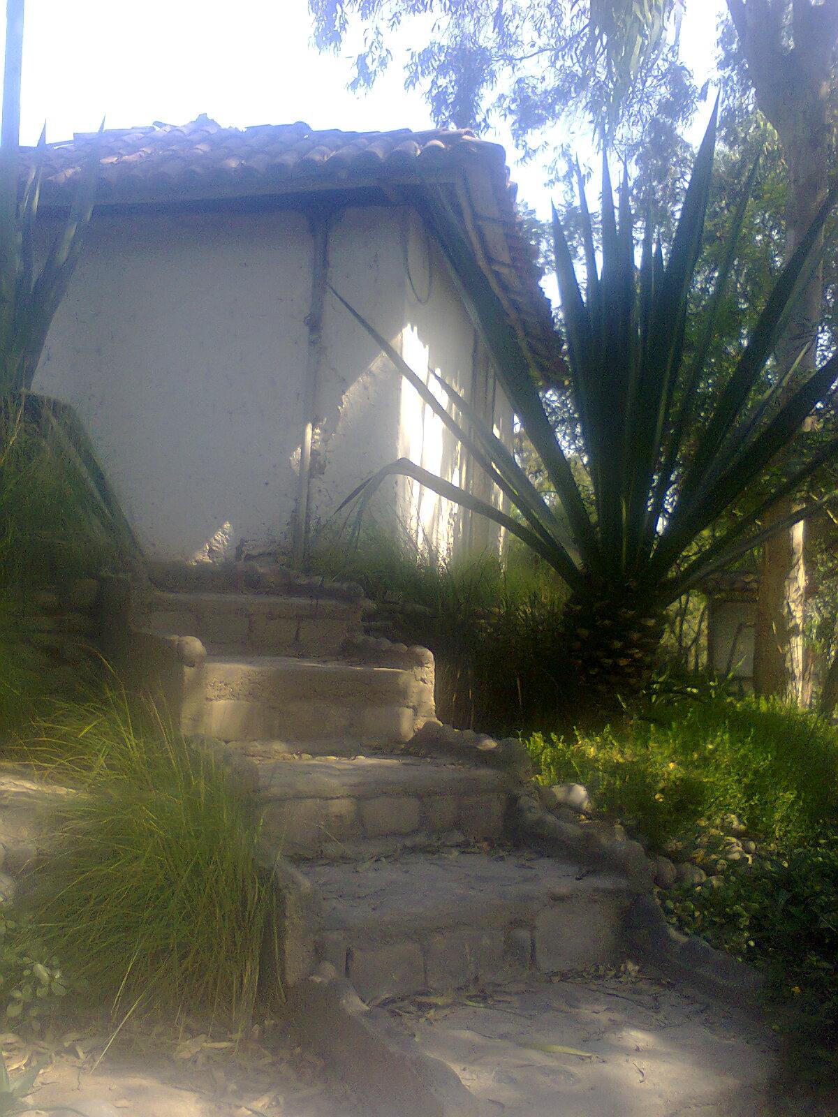 I e daniel alcides carrion visita de estudio al parque for Caidas de agua para techos
