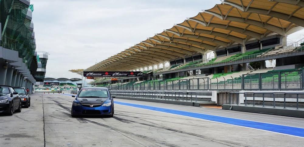 Aspiring racer: Shawn Ang