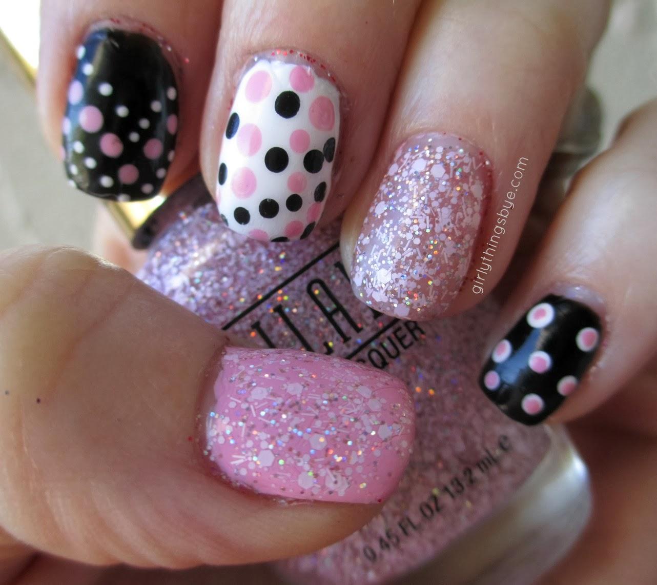 Milani Nail Lacquer, Sugar Burst, @girlythingsby_e