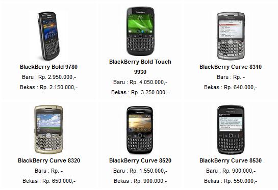 Sekian : Daftar Harga Blackberry Murah Terbaru 2013