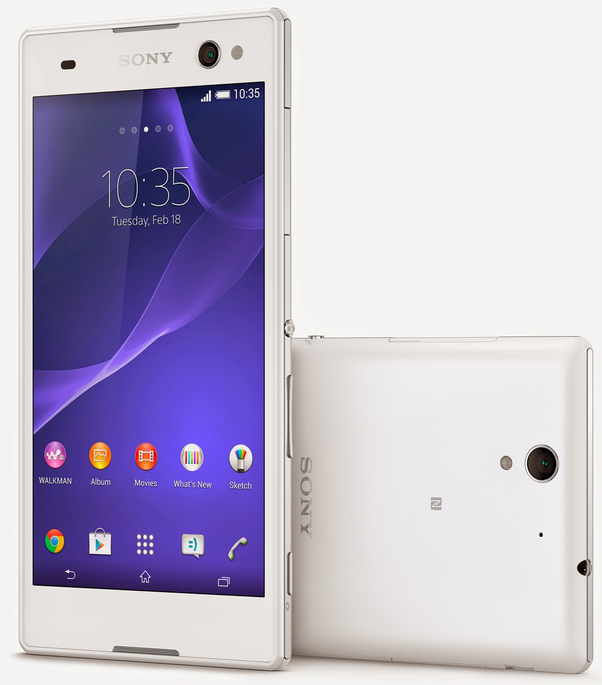 Sony Xperia C3 vs iPhone 5S