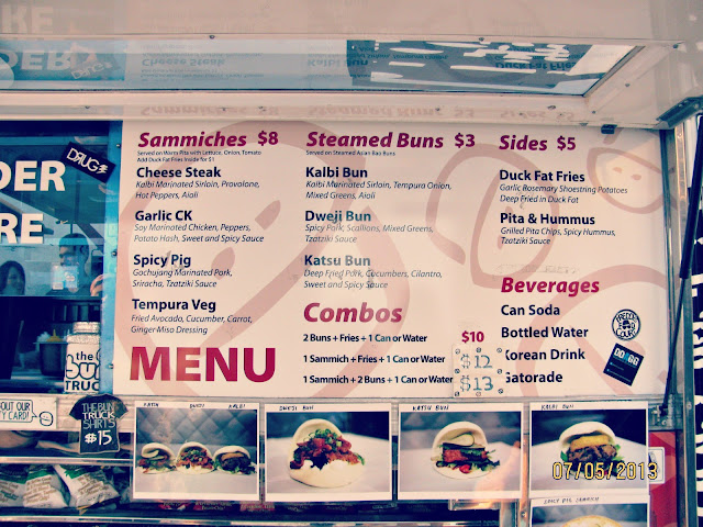 Abbot Kinney First Fridays // The Bun Truck Menu