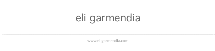 eli garmendia · blog
