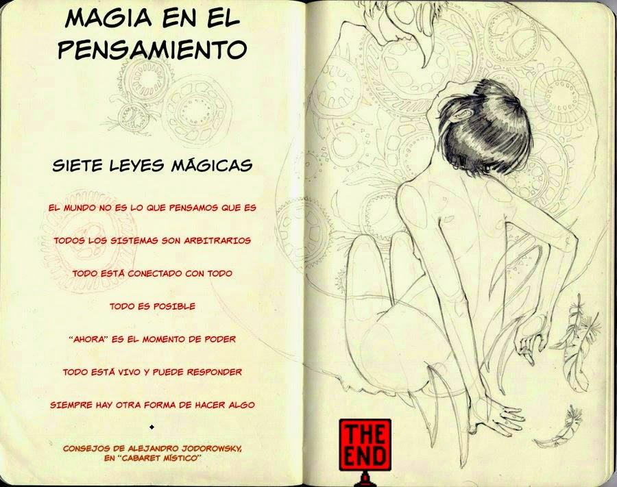 Magia En El Pensamiento: Compendio De Las Siete Leyes Mágicas De Alejandro Jodorowsky
