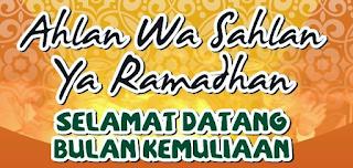 Kata Ucapan Selamat Puasa Ramadhan 2015